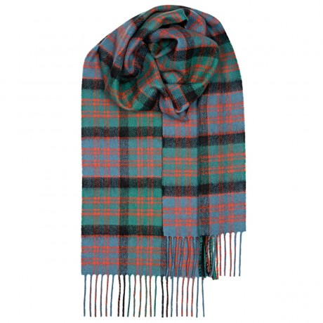 MacDonald Clan Ancient Tartan Lambswool Scarf