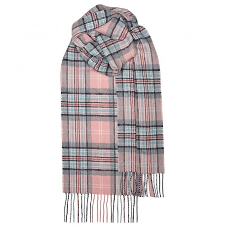 Diana, Princess of Wales Memorial Rose Tartan Lambswool Scarf