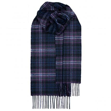 Scotland Forever Modern Tartan Lambswool Scarf