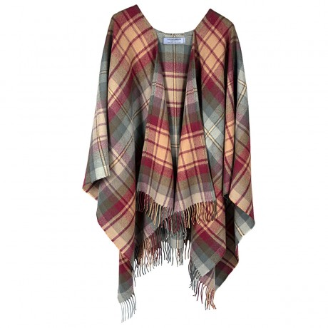 Auld Scotland Tartan Lambswool Serape
