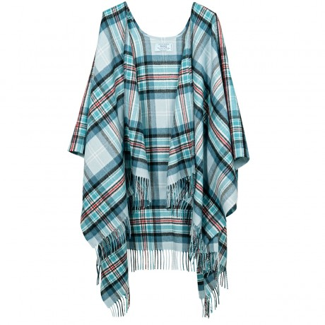 Diana, Princess of Wales Memorial Tartan Lambswool Long Serape
