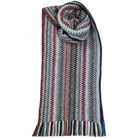 Arctic Faith Wool/Angora Knitted Scarf