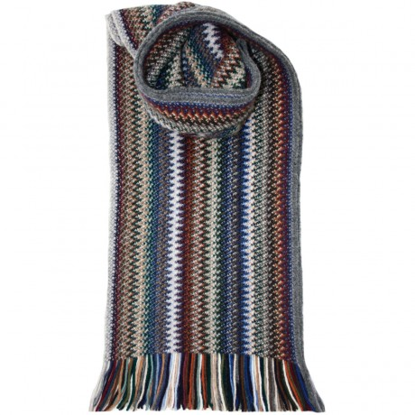 Cappuccino Faith Wool/Angora Knitted Scarf