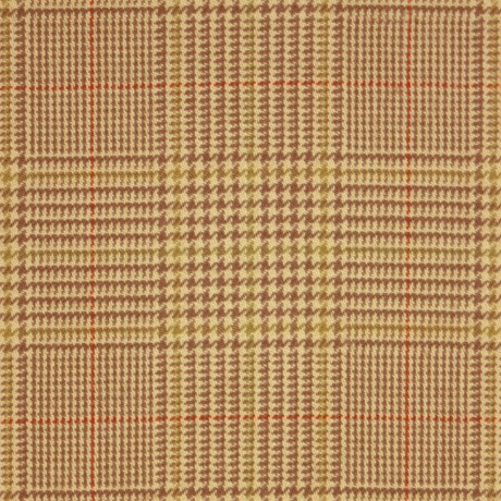 Crail Check Tweed Light Weight Fabric