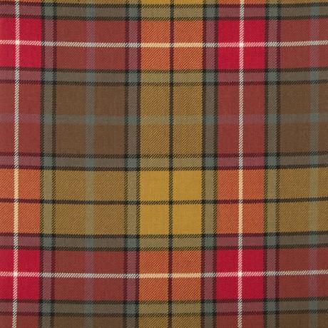 Buchanan Weathered Medium Weight Tartan Fabric