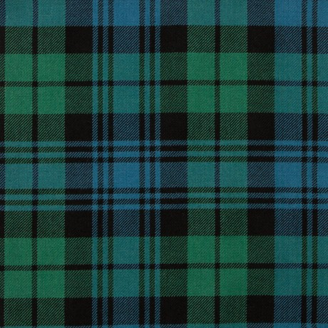 Black Watch Ancient Medium Weight Tartan Fabric