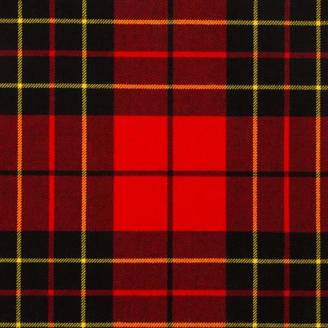 Brodie Red Modern Medium Weight Tartan Fabric