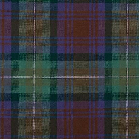 Isle of Skye Medium Weight Tartan Fabric