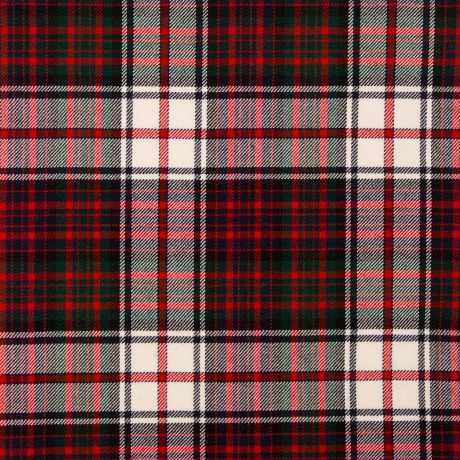 MacDonald Dress Modern Medium Weight Tartan Fabric