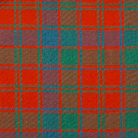Robertson Red Ancient Medium Weight Tartan Fabric
