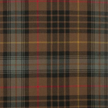 Stewart Hunting Weathered Medium Weight Tartan Fabric