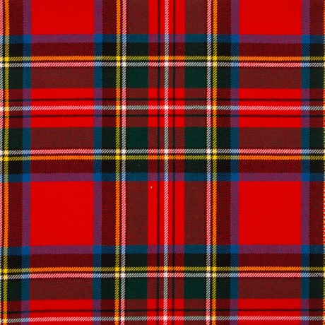 Stewart Royal Modern Medium Weight Tartan Fabric