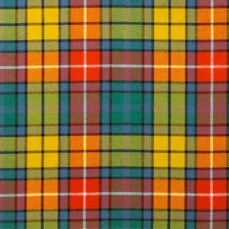 Buchanan Ancient Light Weight Tartan Fabric