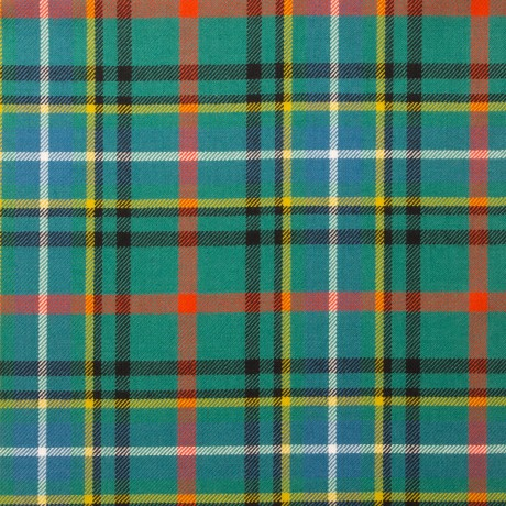 Bisset Ancient Light Weight Tartan Fabric