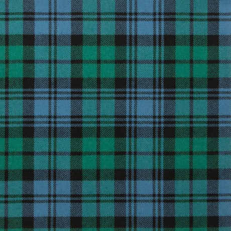 Black Watch Ancient Light Weight Tartan Fabric