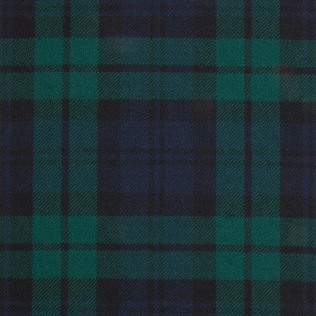 Black Watch Modern Light Weight Tartan Fabric