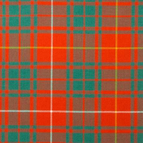 Bruce Ancient Light Weight Tartan Fabric