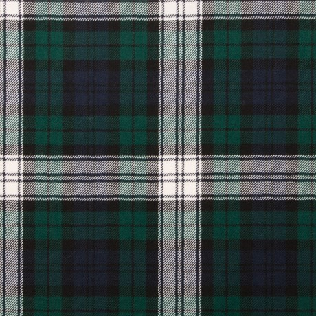 Black Watch Dress Modern Light Weight Tartan Fabric