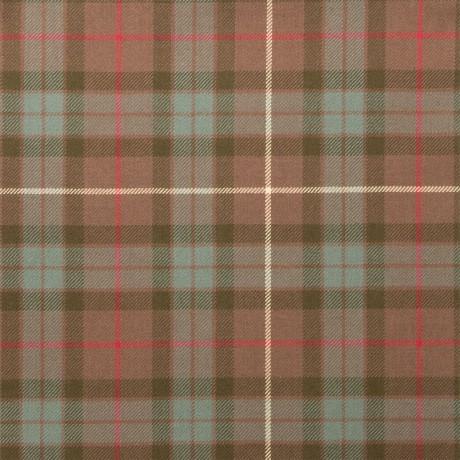Fraser Hunting Weathered Light Weight Tartan Fabric