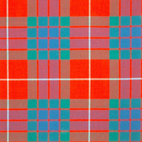 Fraser Red Ancient Light Weight Tartan Fabric