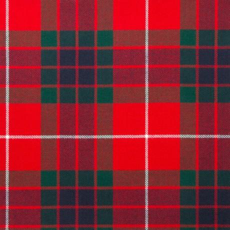 Fraser Red Modern Light Weight Tartan Fabric