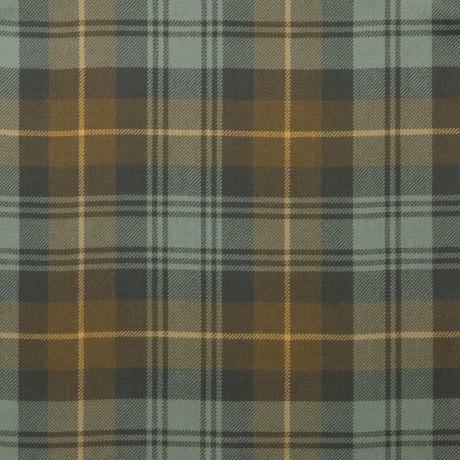 Gordon Clan Weathered Light Weight Tartan Fabric