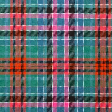 Gordon Red Ancient Light Weight Tartan Fabric