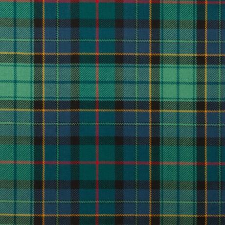 Leinster Green Irish Light Weight Tartan Fabric