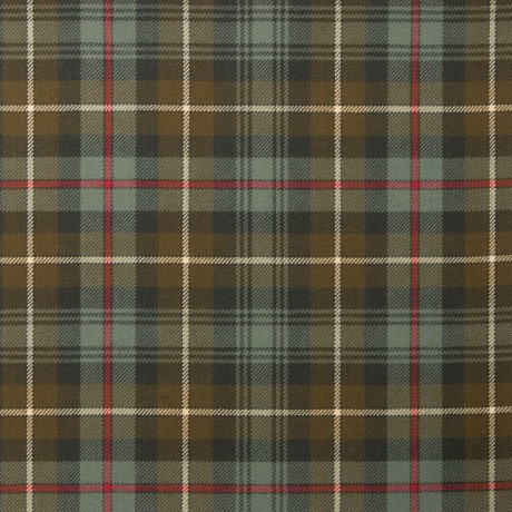 MacKenzie Weathered Light Weight Tartan Fabric