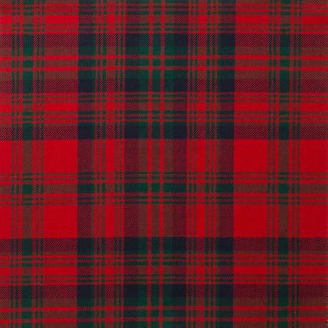 Matheson Red Modern Light Weight Tartan Fabric