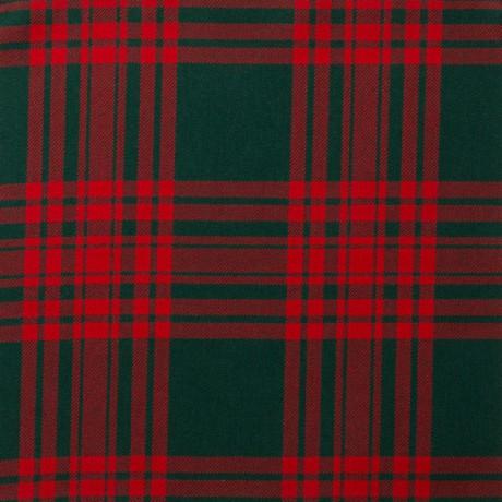 Menzies Green Modern Light Weight Tartan Fabric