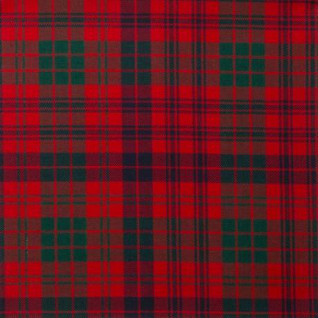Ross Red Modern Light Weight Tartan Fabric