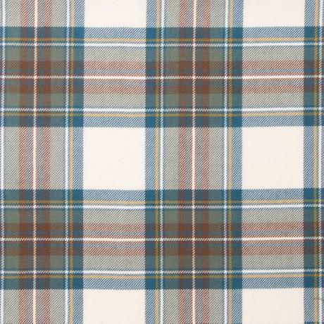 Stewart Blue Dress Light Weight Tartan Fabric