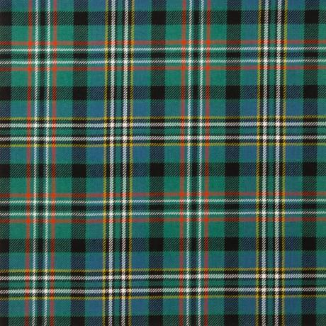 Scott Green Ancient Light Weight Tartan Fabric