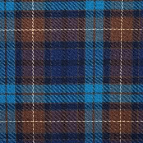 Buchanan Blue Heavy Weight Tartan Fabric