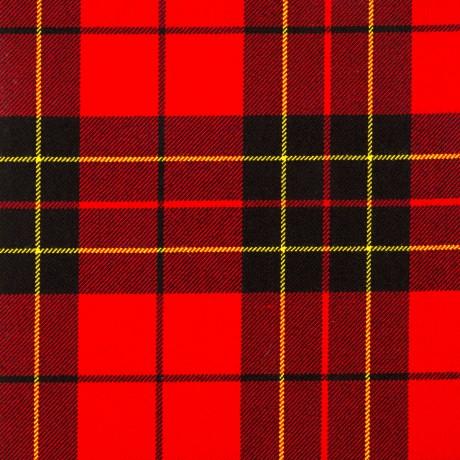 Brodie Red Modern Heavy Weight Tartan Fabric