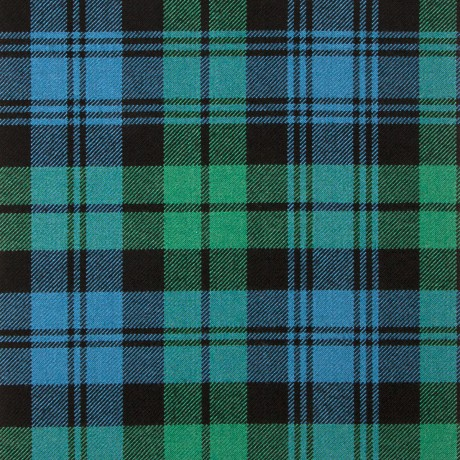 Campbell Clan Ancient Heavy Weight Tartan Fabric