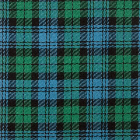 Campbell Old Ancient Heavy Weight Tartan Fabric