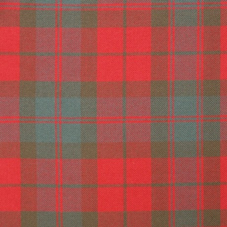 Fraser Clan Weathered Heavy Weight Tartan Fabric