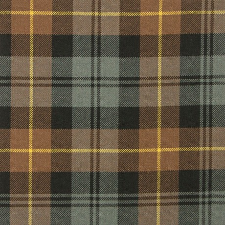 Gordon Clan Weathered Heavy Weight Tartan Fabric