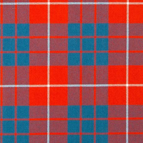 Hamilton Red Ancient Heavy Weight Tartan Fabric