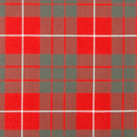 Hamilton Red Weathered Heavy Weight Tartan Fabric