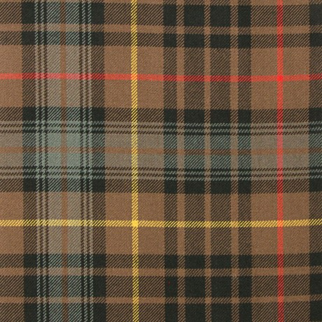 Stewart Hunting Weathered Heavy Weight Tartan Fabric