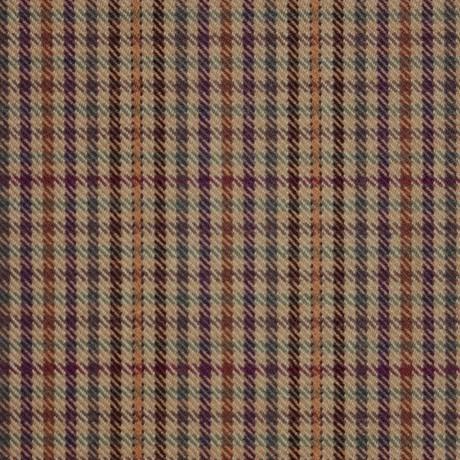 Ednam Check Tweed Light Weight Fabric