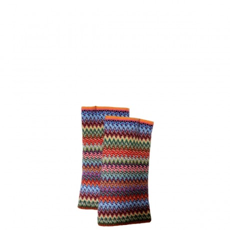 Rachel Faith Wool/Angora Knitted Fingerless Gloves