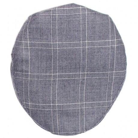 Dornoch Estate Check Tweed Barnton Flat Cap