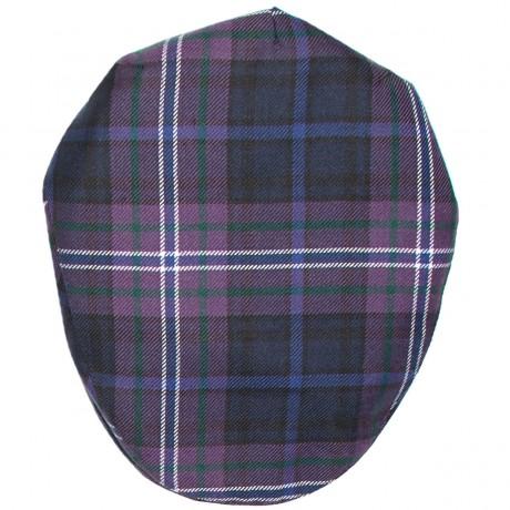 Scotland Forever Tartan Barnton Flat Cap