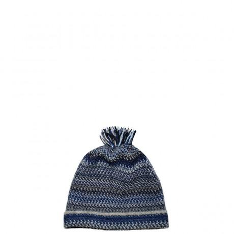 Midnight Faith Wool/Angora Knitted Hat