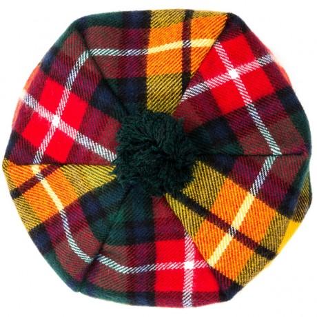 Buchanan Modern Tartan Brushed Wool Tam