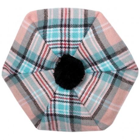 Diana, Princess of Wales Memorial Rose Tartan Brushed Wool Tam